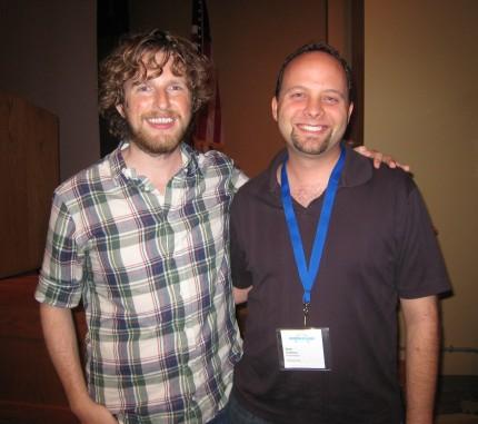 Brett meets Matt Mullenweg